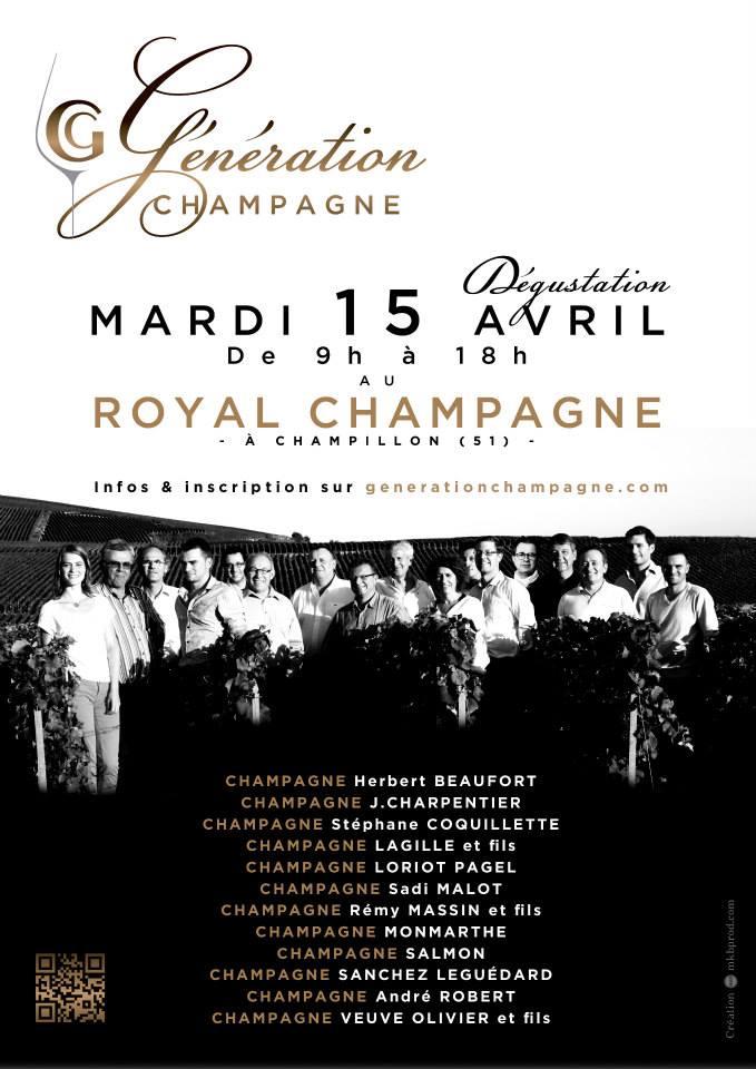 Génération champagne affiche