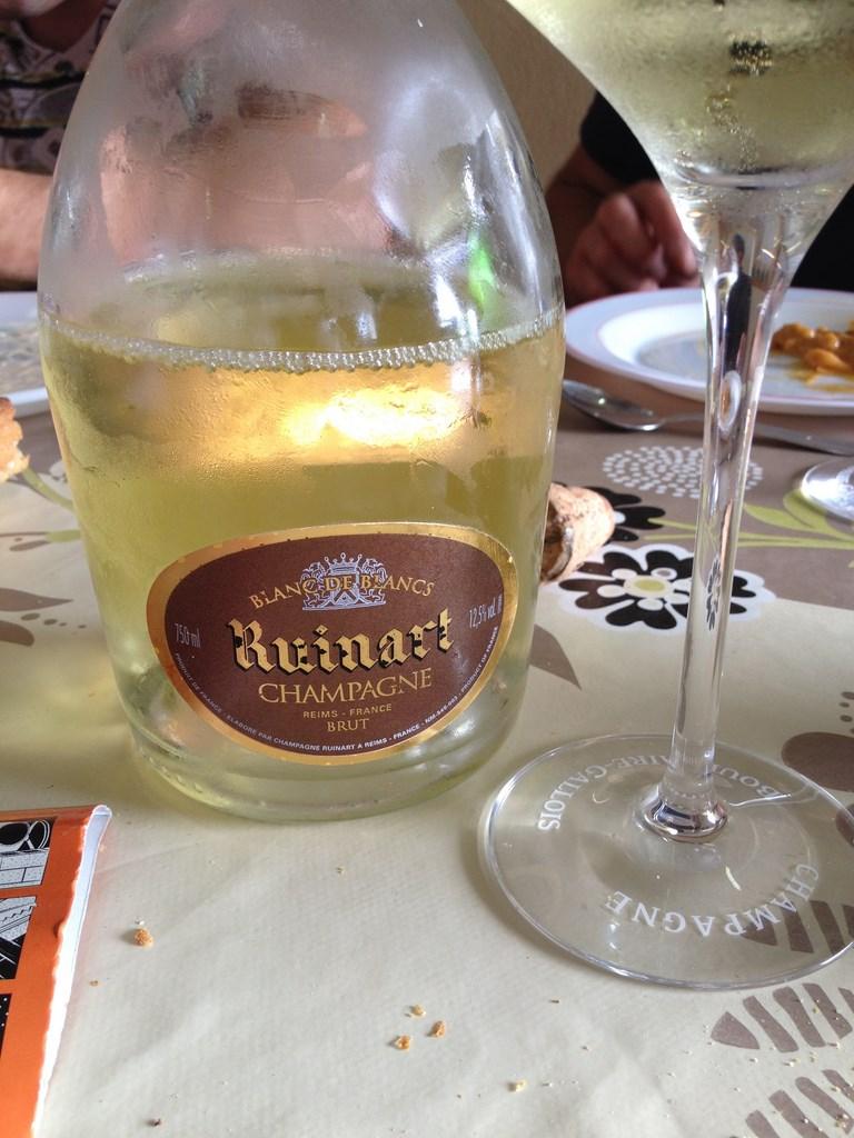 J 39 ai go t pour vous ruinart blanc de blancs - Prix champagne ruinart blanc de blanc ...