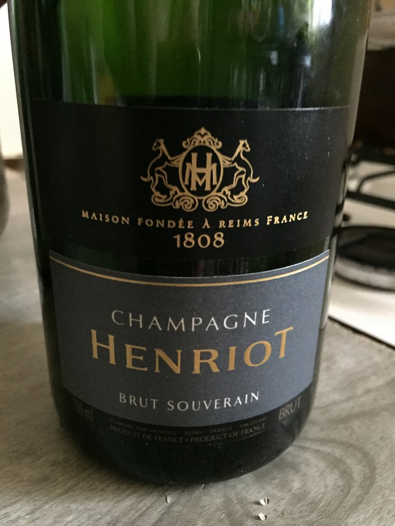 champagne henriot rose noire